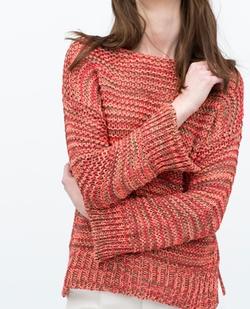 Zara - Boat Neck Sweater