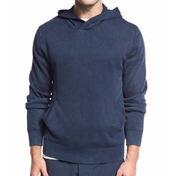Vince - Garment-Dyed Cotton Hoodie