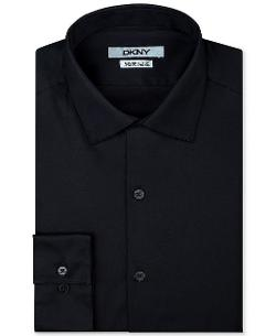 DKNY  - Pinpoint Solid Dress Shirt