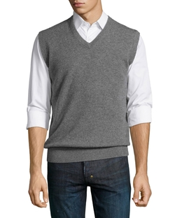 Peter Millar  - Cashmere V-Neck Sweater Vest