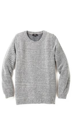 A.P.C.  - Basic Tweed Sweater