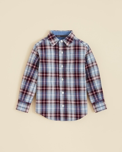 Vince - Plaid Button Down Shirt