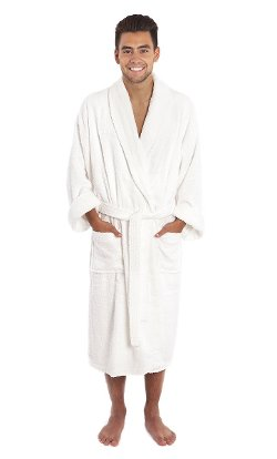 Surprise - Luxury Shawl Collar Toweling Robe