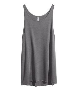 HM - Long Jersey Tank Top