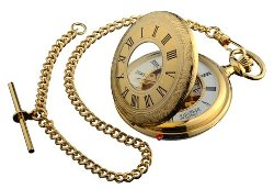 iLuv  - Gold Plated Pocket Watch