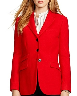 Lauren Ralph Lauren  - Stretch-Wool Blazer