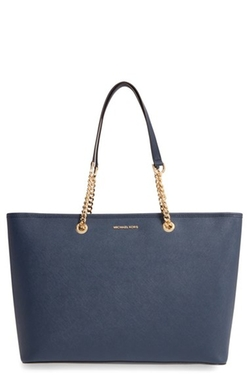 Michael Michael Kors  - Jet Set Chain Saffiano Leather Tote Bag