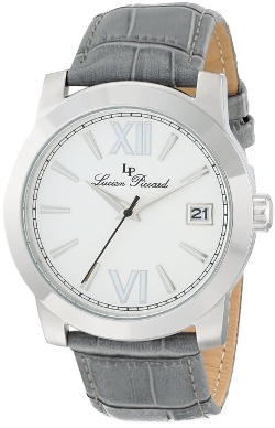 Lucien Piccard  - Bordeaux Stainless Steel Watch
