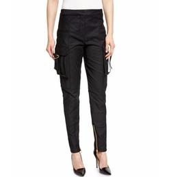 Balmain - Mid-Rise Skinny Cargo Pants