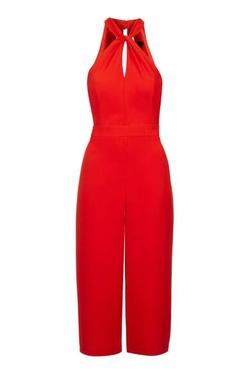 Topshop - Halter Culotte Jumpsuit
