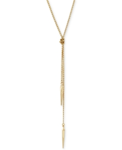 BCBGeneration  - Knotted Long Length Lariat Necklace