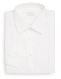 Ermenegildo Zegna  - Paul Solid Dress Shirt