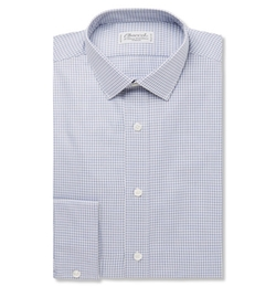 Charvet - Slim-Fit Gingham Checked Cotton Shirt