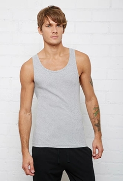 21 Men - Bread & Boxers Ribbed Tank Top