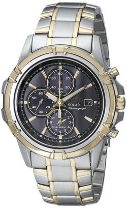 Seiko - Chronograph Solar Dress Sport Watch