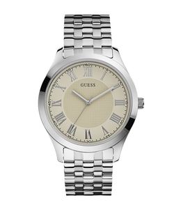 Guess - Polished Stainless Steel Bracelet Watch