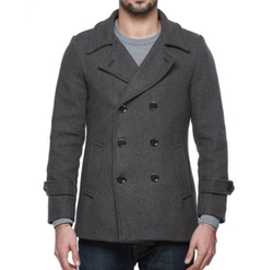 Match - Wool Classic Pea Coat