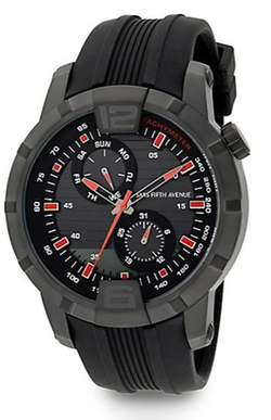 Saks Fifth Avenue - Rubber Multi-Function Watch