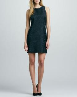Phoebe by Kay Unger - Sleeveless Space-Dye Dress