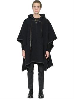 Dolce & Gabbana   - Wool & Cashmere Blend Poncho
