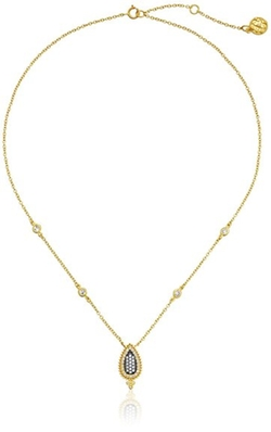 Freida Rothman - Paisley Pave Small Pendant Necklace
