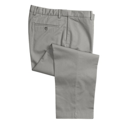 Sierra Trading Post - Flat Front Cotton Twill Pants