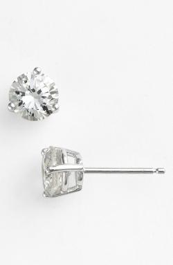 Nordstrom  - Boxed Round 2ct tw Cubic Zirconia Earrings