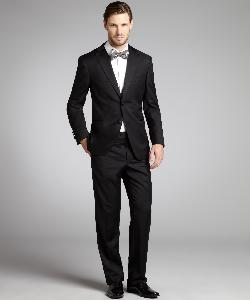 Jack Victor Studio - Two Button Tuxedo With Flat Front Pants