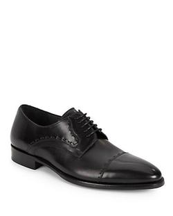 Mezlan - Lombardo Cap Toe Leather Oxford Shoes