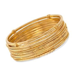 Ross & Simons - Mixed Bangle Bracelets
