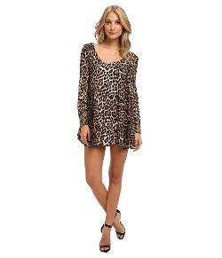 Brigitte Bailey - Leopard Print Shift Dress
