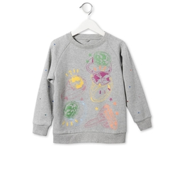 Stella McCartney - Grey Betty Rings Print Sweatshirt