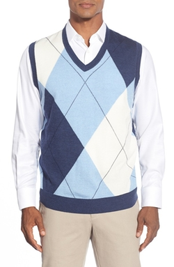 Brooks Brothers - Exploded Argyle Print Vest