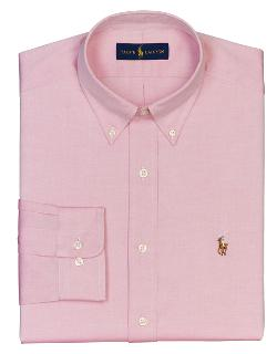 Polo Ralph Lauren  - Regular Fit Pinpoint Oxford Dress Shirt