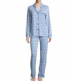 Cosabella - Bella Printed Long-Sleeve Pajama Set,