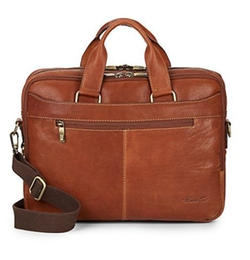 Kenneth Cole - Crumple Leather Briefcase