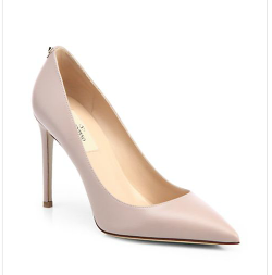Valentino  - New Plain Leather Pumps