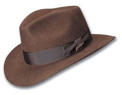 Dorfman Pacific  - Indiana Jones Fur Felt Fedora Hat