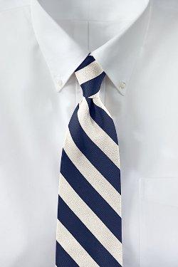 Lands End - Wide Stripe Necktie