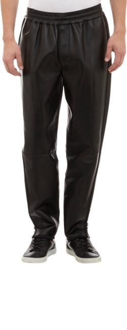3.1 Phillip Lim  - Leather Track Pants With Ankle Zips