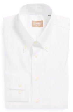 Gitman  - Regular Fit Pinpoint Cotton Oxford Button Down Dress Shirt