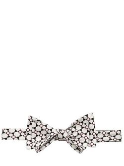 Mark Gusti - Printed Silk Twill Bow Tie