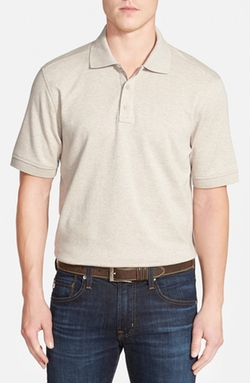 Nordstrom  - Trim Fit Interlock Knit Polo Shirt