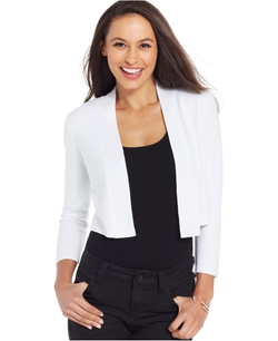 Charter Club - Cropped Bolero Cardigan