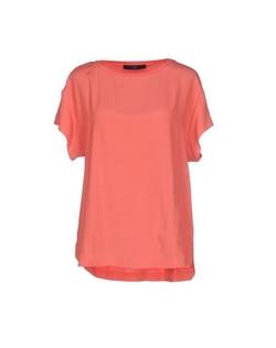 Blue Les Copains - Round Collar T-Shirt