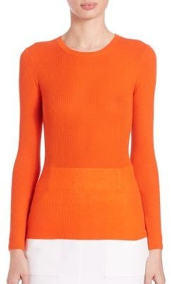 Michael Kors Collection  - Cashmere Crewneck Sweater