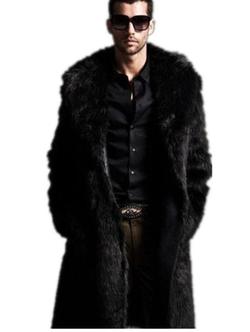 Yabeiqin - Luxury Faux Overcoat