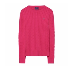Gant - Stretch Cotton Cable Crew Sweater
