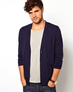 ASOS - Cardigan In Lightweight Jersey