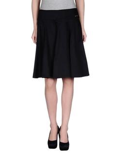 Clips More - Knee Length Skirt